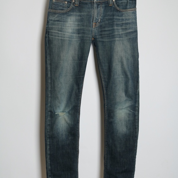 Nudie Jeans Other - Nudie Jeans Tube Kelly Zipper Fly Size 30W 32L